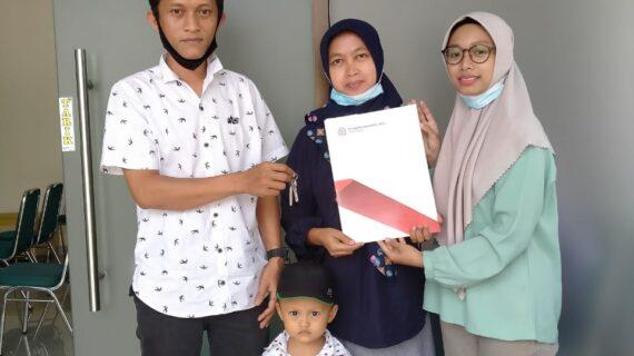 Jumat, 28 Mei 2021 : Akad dan Serah Terima Rumah Pesona Griya Kujon